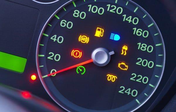 Car Speedometer Symbols